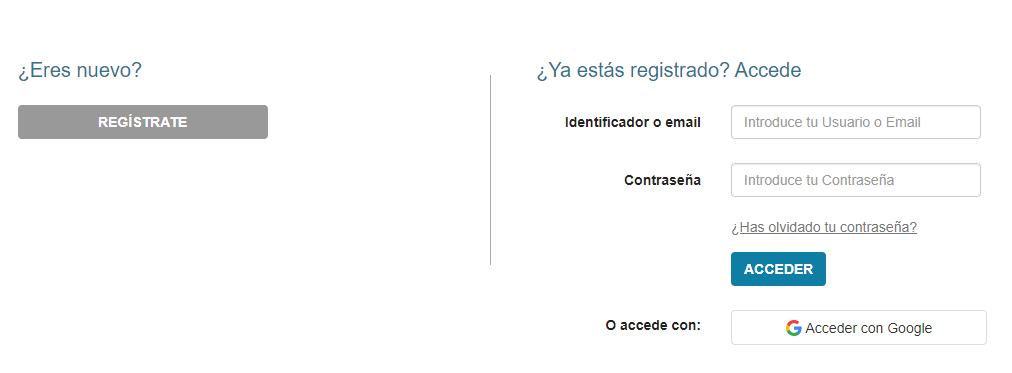 Registrarme