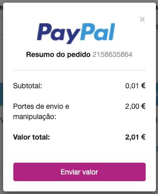 Resumo PayPal